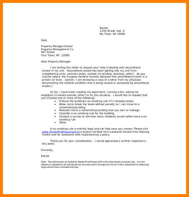 formal-complaints-letter-formal-complaint-letter-to-landlord-template