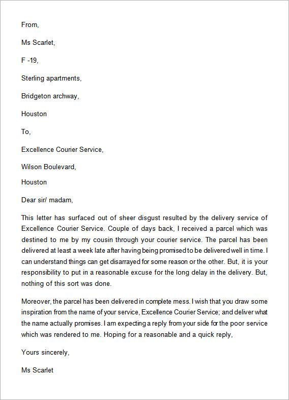 Complaint-Letter-for-Poor-Service2