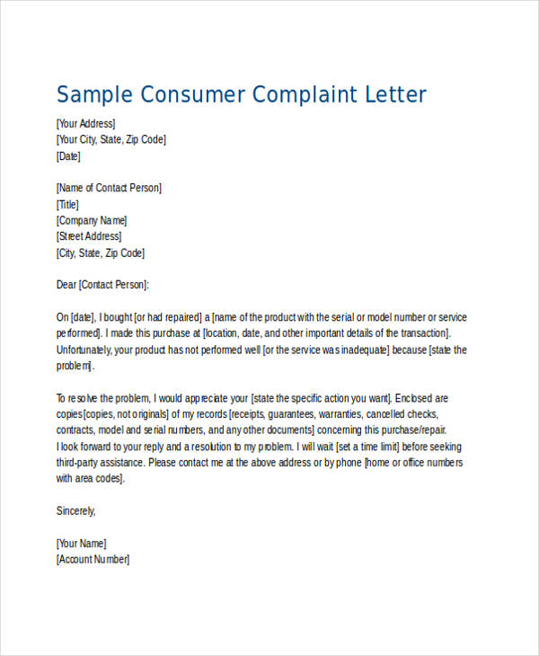 How to Write a Complaint Letter About a Product