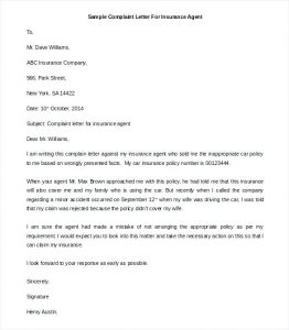 Complaint Letter to Mobile Company