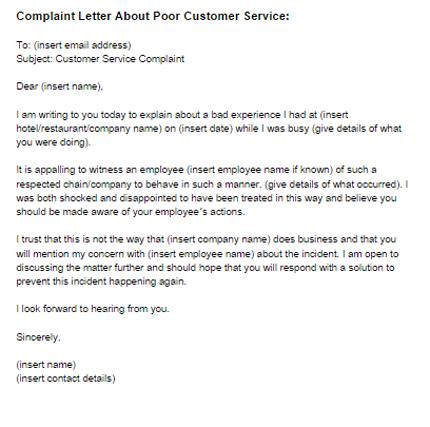 Complaint Letter About a Product Quality