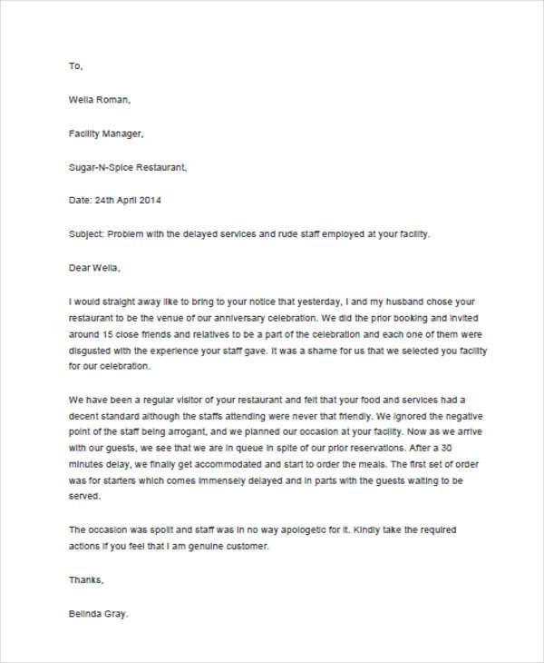 Restaurant-Complaint-Response-Letter1
