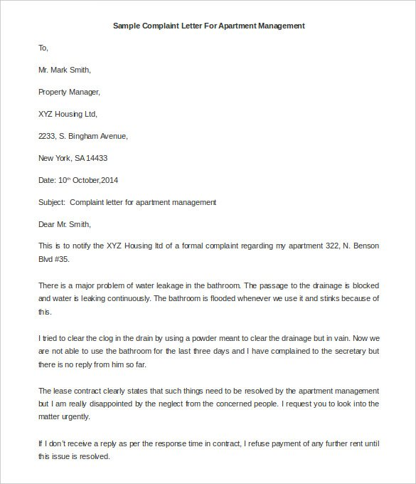 How to Write a Complaint Letter to Manager